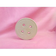 18mm MDF Button 100mm